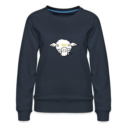 Angel Sheep - Naisten premium-collegepaita