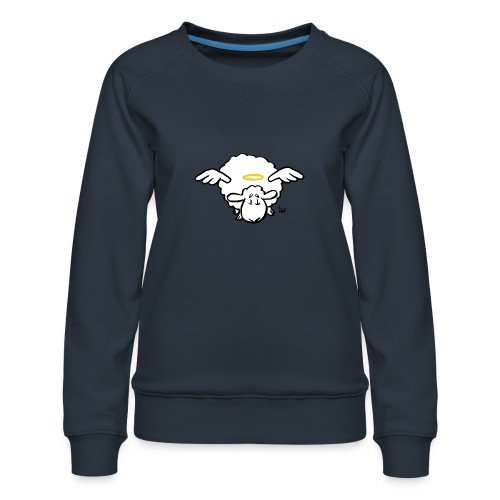 Angel Sheep - Sweat ras-du-cou Premium Femme