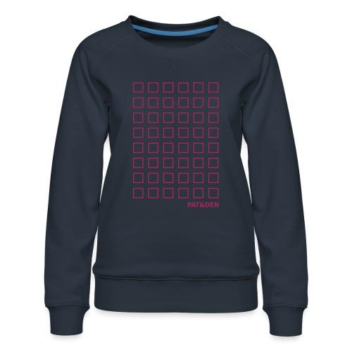 Squares 0PD09 - Frauen Premium Pullover