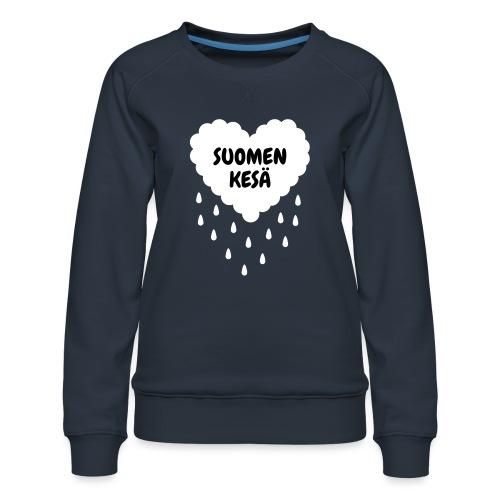 Suomen kesä - Naisten premium-collegepaita