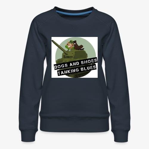 logo dogs nieuw - Vrouwen premium sweater