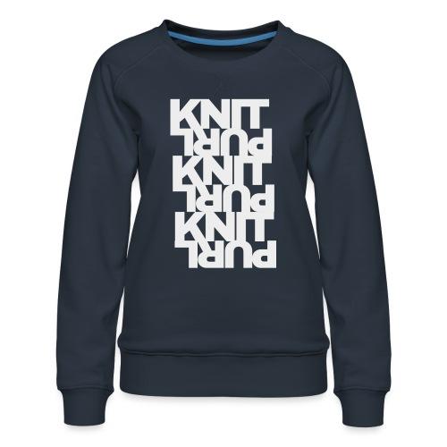 St st, light - Women's Premium Sweatshirt