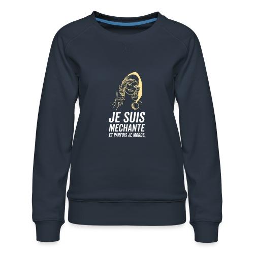 Tshirt Femme - Sweat ras-du-cou Premium Femme