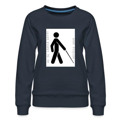 Blind T-Shirt - Women's Premium Sweatshirt