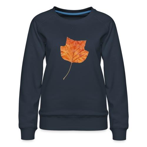 Herbst-Blatt - Frauen Premium Pullover