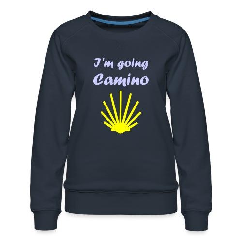 Going Camino - Dame premium sweatshirt