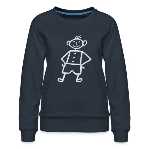 me-white - Frauen Premium Pullover