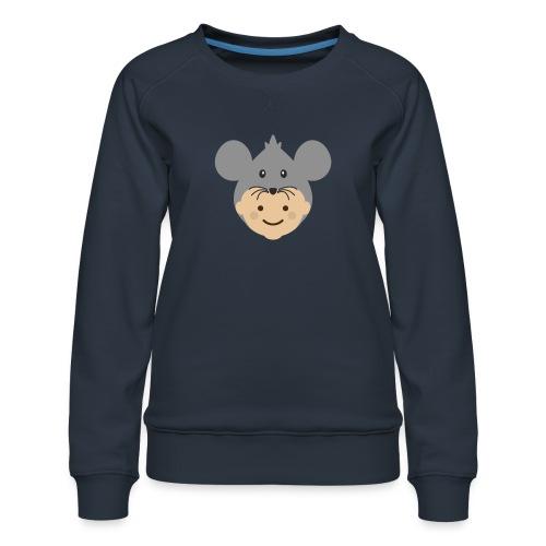 Mr Mousey | Ibbleobble - Women's Premium Sweatshirt