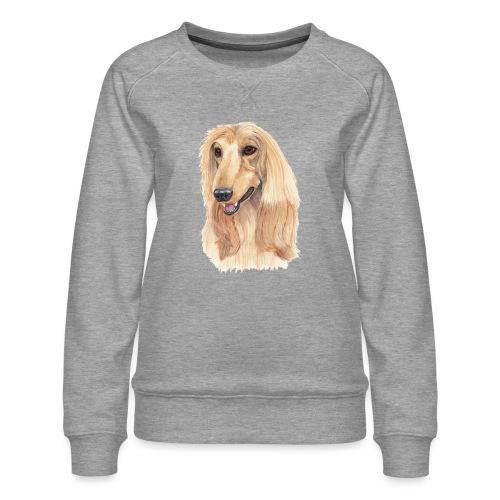 afghanskMynde- A - Dame premium sweatshirt