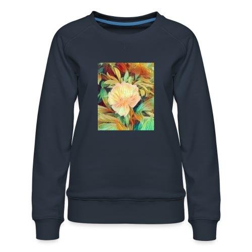 Flower - Frauen Premium Pullover