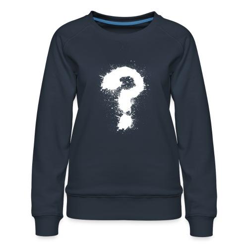 Fragezeichen - Frauen Premium Pullover