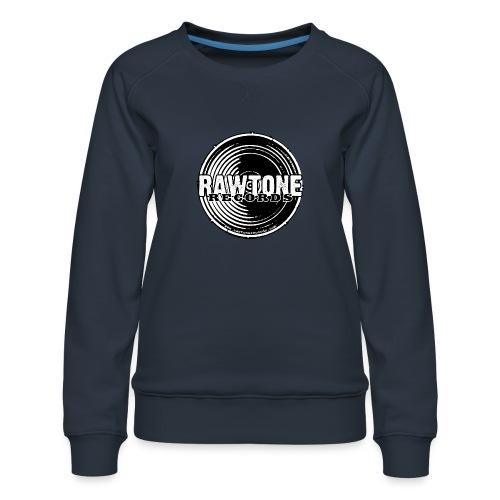 Rawtone Records - full logo - Women's Premium Sweatshirt