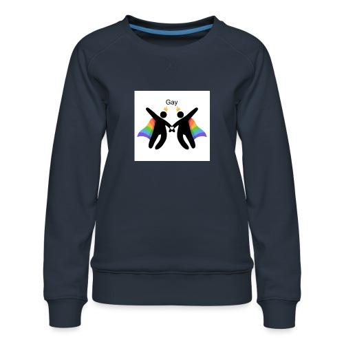 LGBT Gay - Dame premium sweatshirt