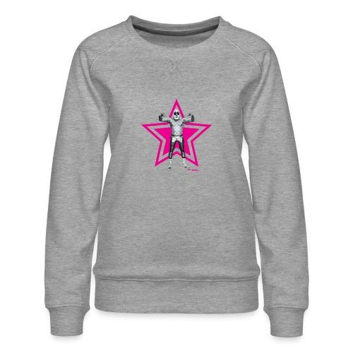Hazy Logo - Frauen Premium Pullover