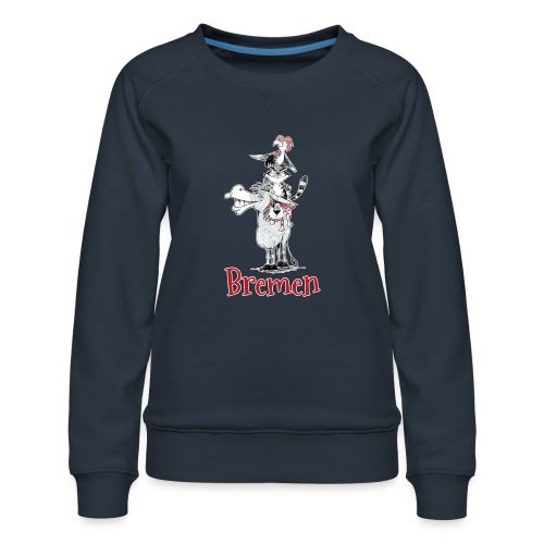 Bremer Stadtmusikanten - Frauen Premium Pullover
