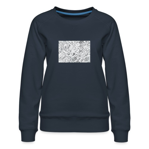 Doodle - Bluza damska Premium