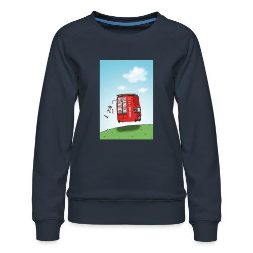 Feuerwehrwagen - Frauen Premium Pullover