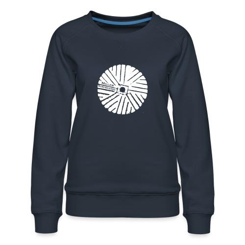 White chest logo sweat - Women's Premium Sweatshirt