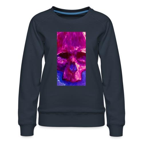 Purple Skull - Vrouwen premium sweater
