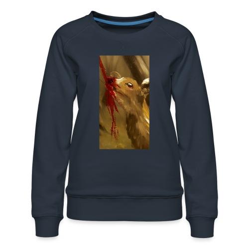 Shot? - Vrouwen premium sweater