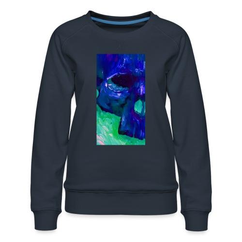 Blue Skull #2 - Vrouwen premium sweater