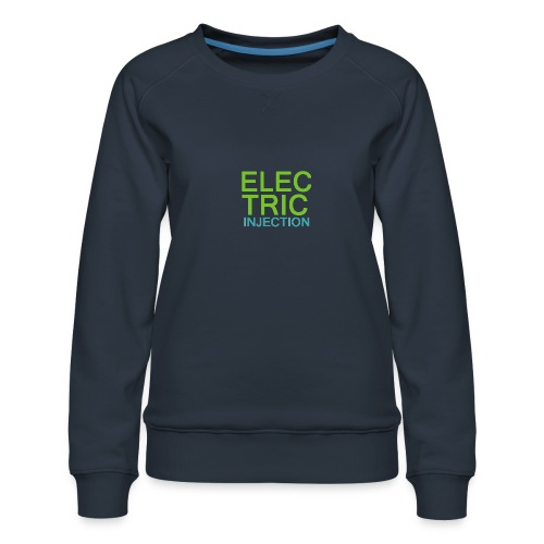 ELECTRIC INJECTION basic - Frauen Premium Pullover