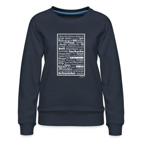 Alemannisch - Frauen Premium Pullover