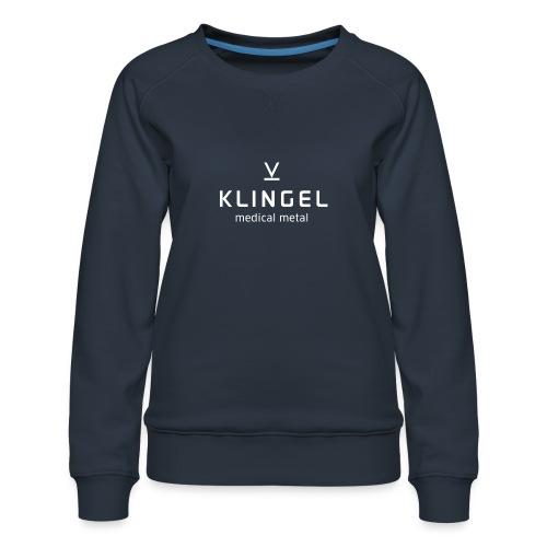 Klingel Logo Negativ - Frauen Premium Pullover