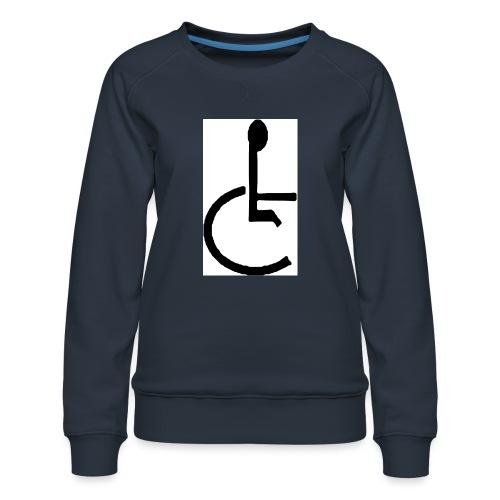 Don't have to get Drunk to Get Legless - Women's Premium Sweatshirt