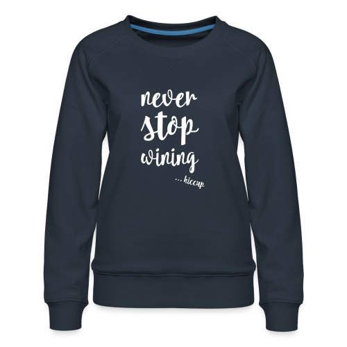 WINING - Vrouwen premium sweater