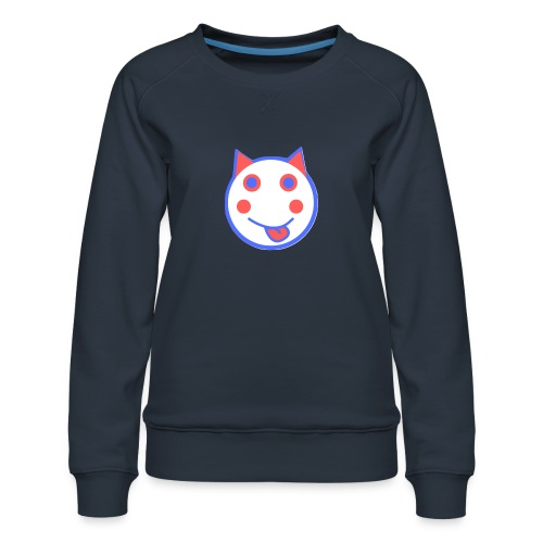 Red White And Blue - Alf Da Cat - Women's Premium Sweatshirt