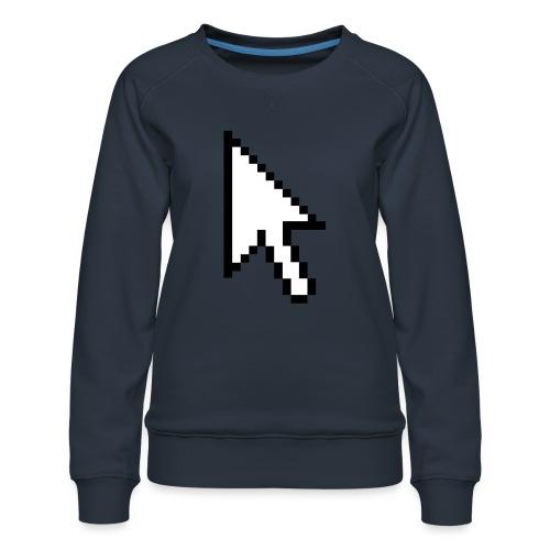Mouse Arrow - Vrouwen premium sweater