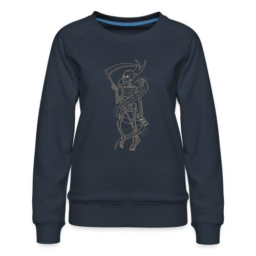 Altes Schädelgold - Frauen Premium Pullover