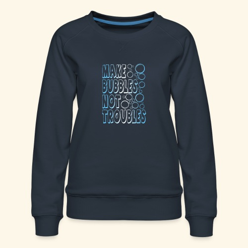 Bubbles001 - Vrouwen premium sweater