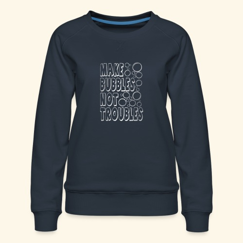 Bubbles003 - Vrouwen premium sweater