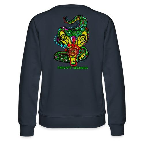 Parvati Records Cobra by Juxtaposed HAMster - Women's Premium Sweatshirt