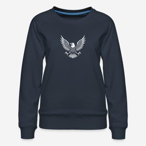 eagle usa american - Frauen Premium Pullover