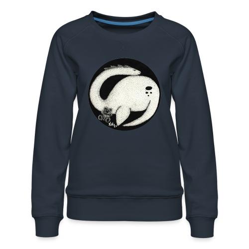 Nessie Durmiente (Monstruo del lago Ness) - Sudadera premium para mujer
