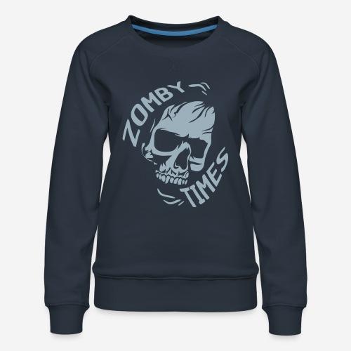 zomby zeiten ära zombie - Frauen Premium Pullover