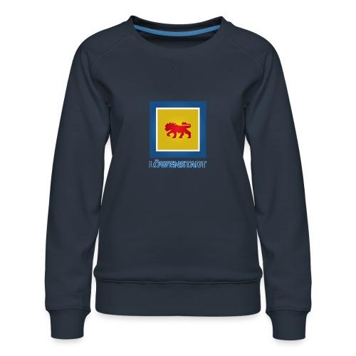 Löwenstadt Fan Design 11 - Frauen Premium Pullover