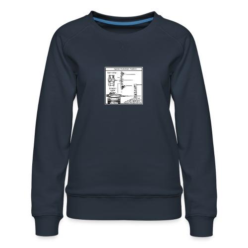W.O.T War tactic, tank shot - Women's Premium Sweatshirt