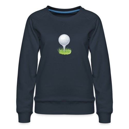 Golf Ball PNG Clipart - Sudadera premium para mujer