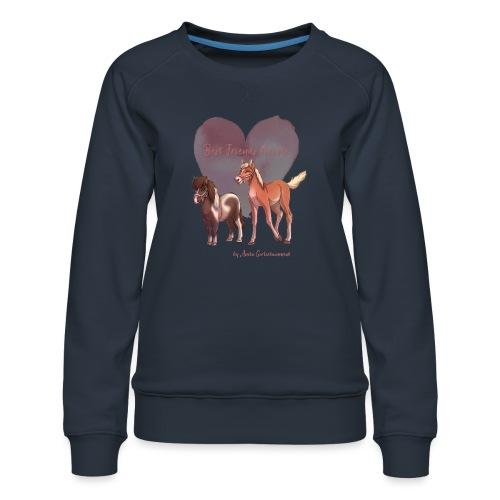 BFF Porzellinchen & Wunschtraum - Frauen Premium Pullover