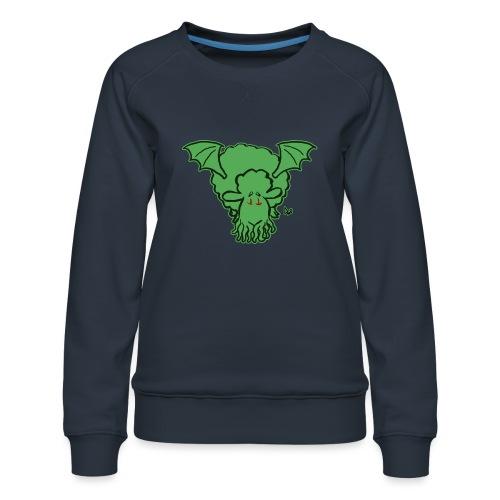 Cthulhu Sheep - Women's Premium Sweatshirt
