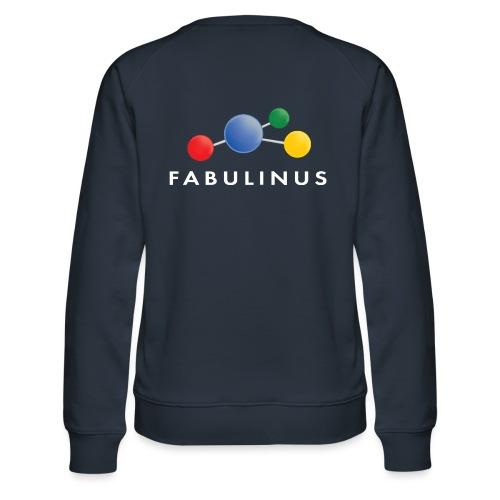 Fabulinus logo enkelzijdig - Vrouwen premium sweater