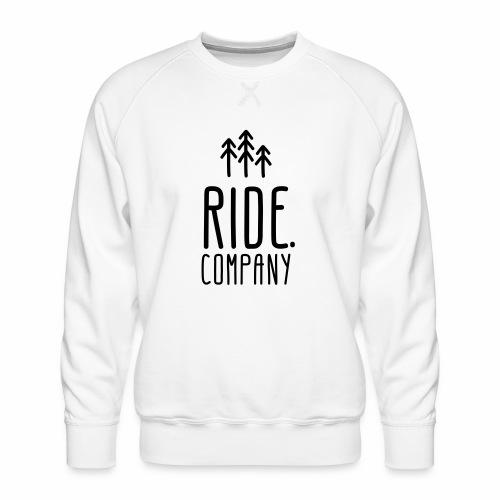 RIDE.company Logo - Männer Premium Pullover