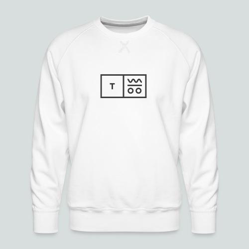 Logo dunkel 2x - Männer Premium Pullover