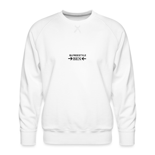CREATED BY THE YOU TUBER CALLED BLFREESTYLE 11 - Men's Premium Sweatshirt
