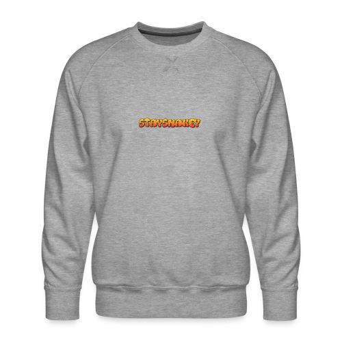 womens jacket grey - Men's Premium Sweatshirt