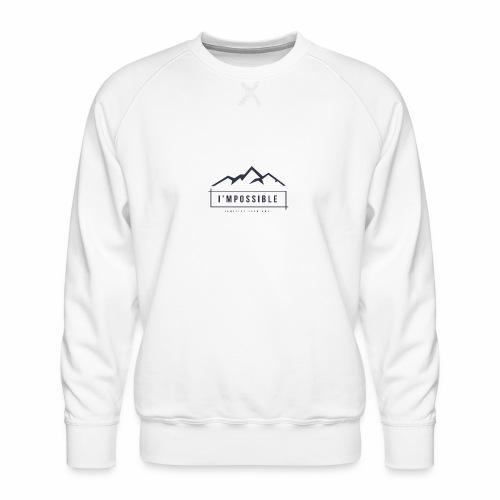 Impossible - Men's Premium Sweatshirt